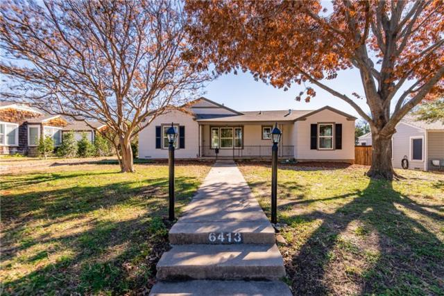 6413 Greenway Road, Fort Worth, TX 76116 (MLS #14012111) :: The Mitchell Group