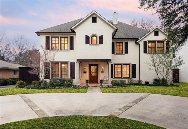 6520 Stichter Avenue, Dallas, TX 75230 (MLS #14012299) :: Robbins Real Estate Group