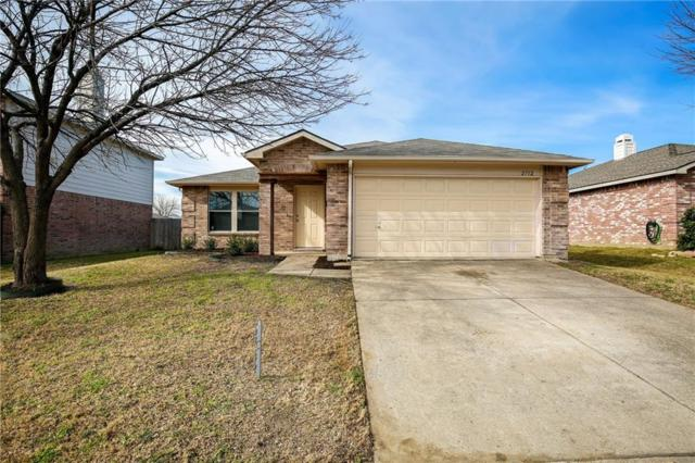 2712 Cedar Crest Drive, Little Elm, TX 75068 (MLS #14012360) :: Robbins Real Estate Group