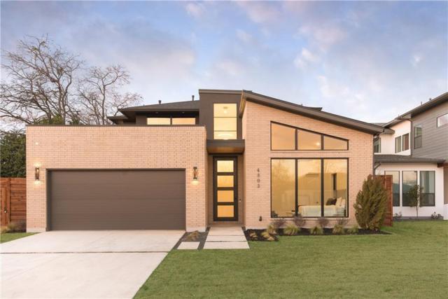 4803 March Avenue, Dallas, TX 75209 (MLS #14012583) :: Kimberly Davis & Associates