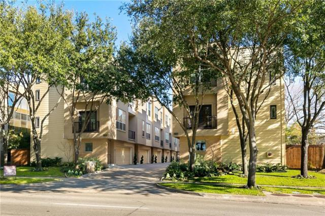 4050 Mckinney Avenue #3, Dallas, TX 75204 (MLS #14012751) :: The Heyl Group at Keller Williams