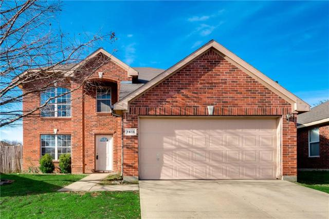 7416 Sleepy Ridge Circle, Fort Worth, TX 76133 (MLS #14012899) :: Frankie Arthur Real Estate