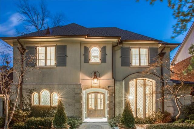 3917 Hanover Street, University Park, TX 75225 (MLS #14013205) :: Frankie Arthur Real Estate