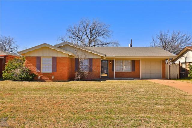 1554 Mimosa Drive, Abilene, TX 79603 (MLS #14013497) :: Kimberly Davis & Associates