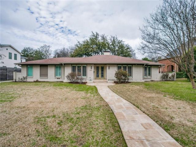 5631 Brookstown Drive, Dallas, TX 75230 (MLS #14013558) :: Robbins Real Estate Group