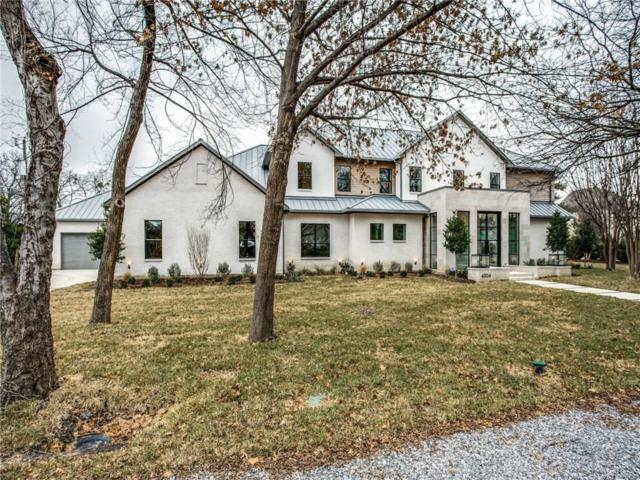 4304 N Cresthaven Road, Dallas, TX 75209 (MLS #14014075) :: Frankie Arthur Real Estate