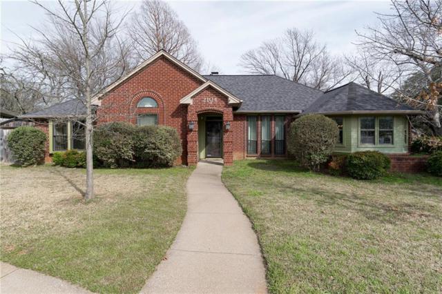 2104 N Aspenwood Drive, Grapevine, TX 76051 (MLS #14014188) :: Team Tiller