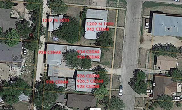 942 Cedar Street, Abilene, TX 79601 (MLS #14014415) :: The Heyl Group at Keller Williams
