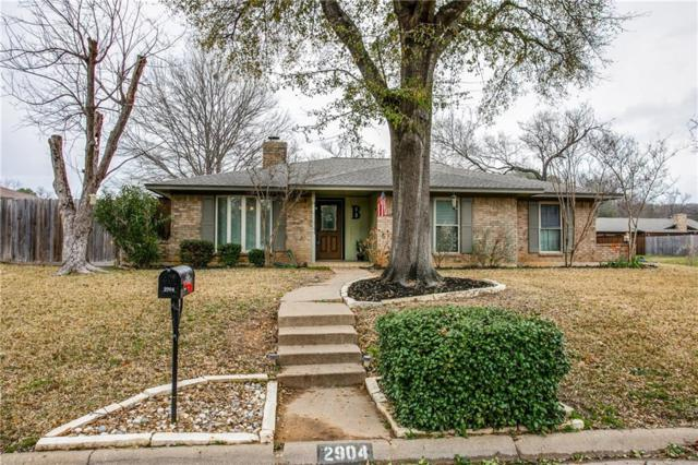2904 Canyon Drive, Grapevine, TX 76051 (MLS #14015772) :: Frankie Arthur Real Estate