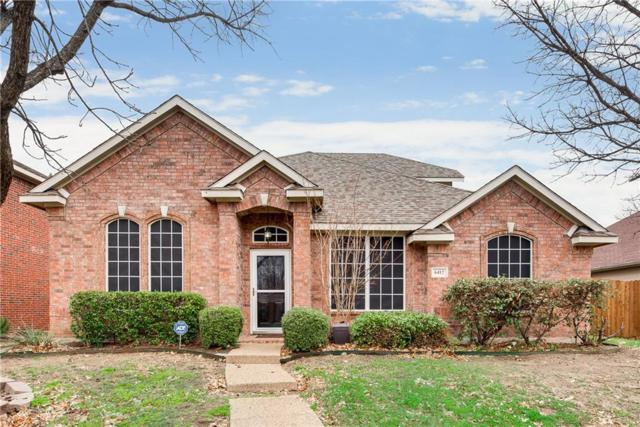 6412 Landmark Trail, The Colony, TX 75056 (MLS #14015964) :: Kimberly Davis & Associates
