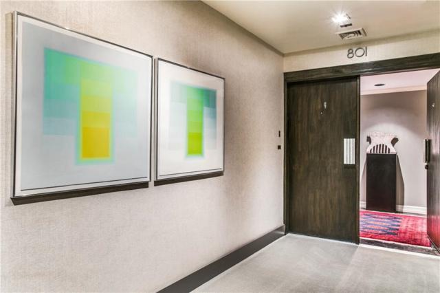 3601 Turtle Creek Boulevard #801, Dallas, TX 75219 (MLS #14016187) :: Van Poole Properties Group