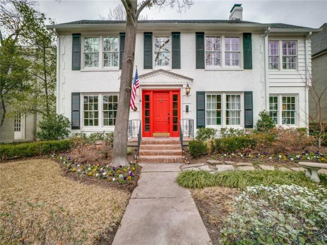 3824 Lovers Lane, University Park, TX 75225 (MLS #14016229) :: North Texas Team | RE/MAX Lifestyle Property