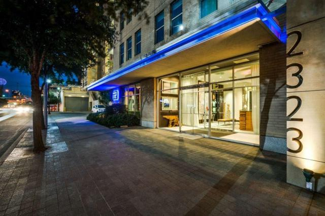2323 N Houston Street N #710, Dallas, TX 75219 (MLS #14016254) :: The Heyl Group at Keller Williams