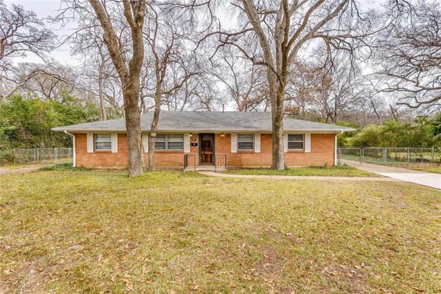 801 Sherwood Drive, Arlington, TX 76013 (MLS #14016506) :: The Heyl Group at Keller Williams