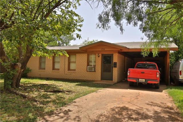 1938 Briarwood Street, Abilene, TX 79603 (MLS #14016748) :: Kimberly Davis & Associates