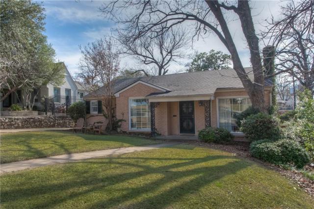 3809 Bellaire Drive S, Fort Worth, TX 76109 (MLS #14017029) :: The Tierny Jordan Network