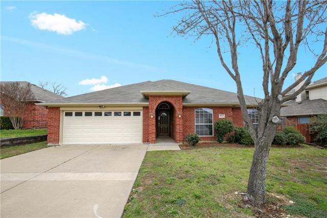 822 La Sierra Court, Crowley, TX 76036 (MLS #14017474) :: Kimberly Davis & Associates