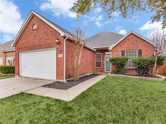 10417 Augusta Lane, Rowlett, TX 75089 (MLS #14017884) :: Kimberly Davis & Associates
