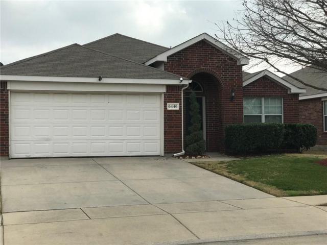 6440 Stone Lake Drive, Fort Worth, TX 76179 (MLS #14018630) :: Kimberly Davis & Associates
