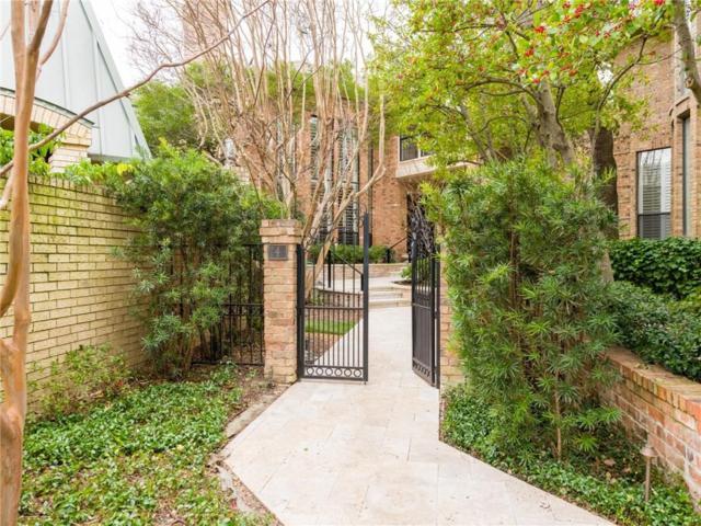 4 Laureston Place, Dallas, TX 75225 (MLS #14020045) :: Robbins Real Estate Group