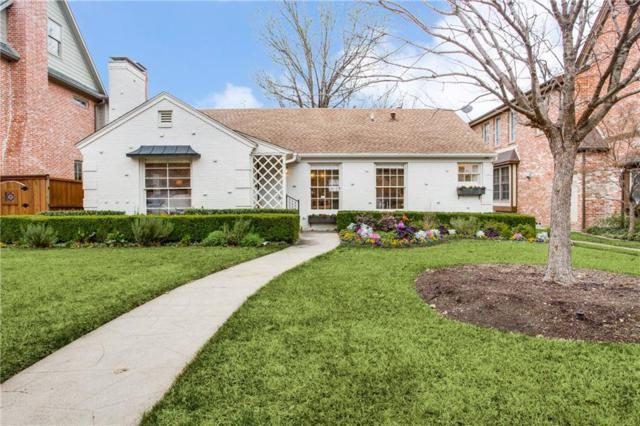 2729 Amherst Avenue, University Park, TX 75225 (MLS #14020255) :: Robbins Real Estate Group