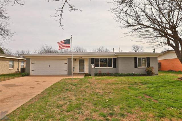 1429 Beechwood Lane, Abilene, TX 79603 (MLS #14020276) :: Kimberly Davis & Associates