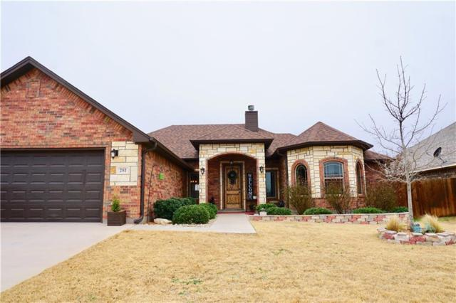 281 Southlake Drive, Abilene, TX 79602 (MLS #14020581) :: Kimberly Davis & Associates
