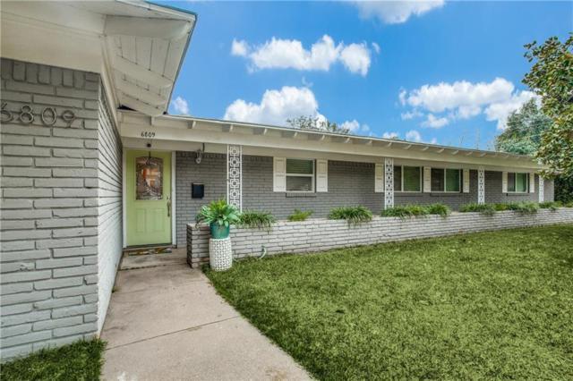 6809 Gammer Drive, Fort Worth, TX 76116 (MLS #14020883) :: Kimberly Davis & Associates