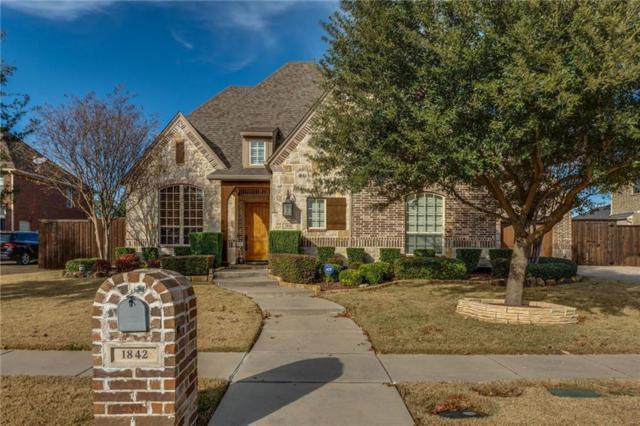 1842 San Andres Drive, Frisco, TX 75033 (MLS #14021707) :: RE/MAX Landmark