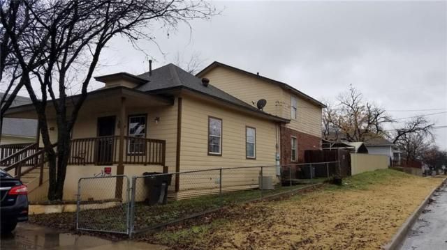 2225 Prospect Avenue, Fort Worth, TX 76164 (MLS #14021749) :: RE/MAX Town & Country