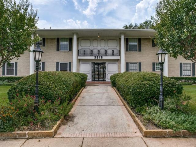 5818 E University Boulevard #136, Dallas, TX 75206 (MLS #14021758) :: The Rhodes Team