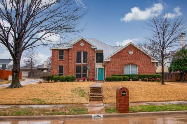 1404 W Peters Colony Road, Carrollton, TX 75007 (MLS #14022275) :: Hargrove Realty Group