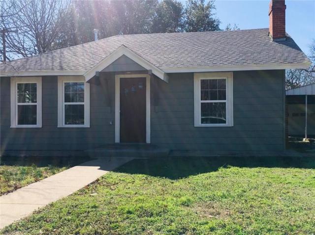 106 S Pendell Avenue, Cleburne, TX 76033 (MLS #14022374) :: RE/MAX Landmark
