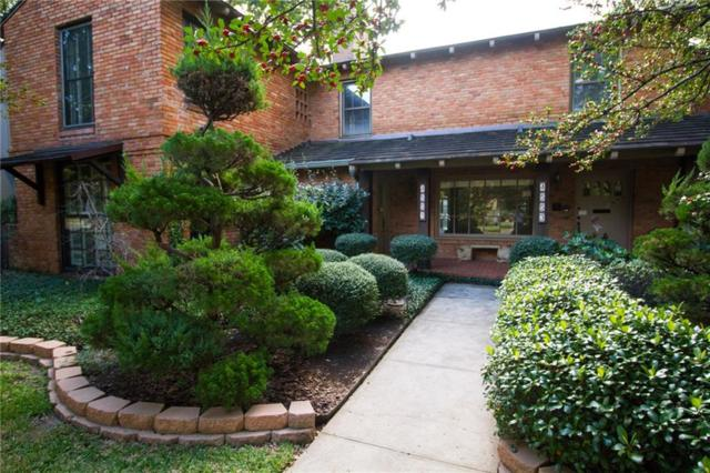 4553 Westway Avenue, Highland Park, TX 75205 (MLS #14022409) :: The Heyl Group at Keller Williams
