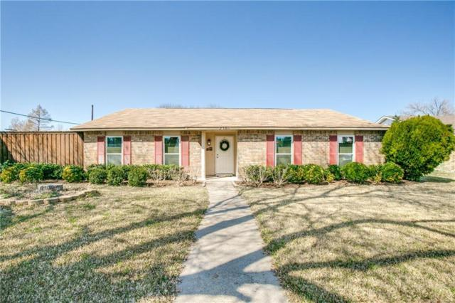 2301 Choctaw Drive, Plano, TX 75093 (MLS #14022525) :: Kimberly Davis & Associates