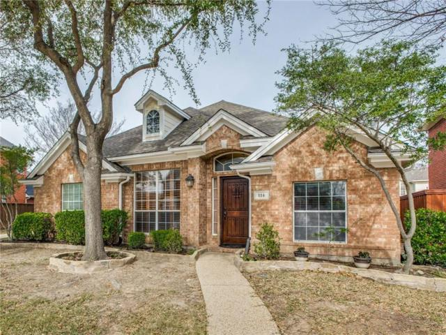 114 Heatherstone Drive, Irving, TX 75063 (MLS #14022578) :: Frankie Arthur Real Estate