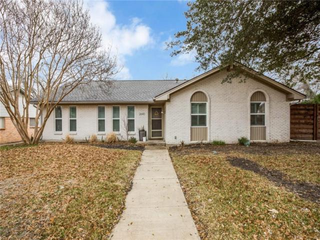 2640 Forest Grove Drive, Richardson, TX 75080 (MLS #14022689) :: Kimberly Davis & Associates