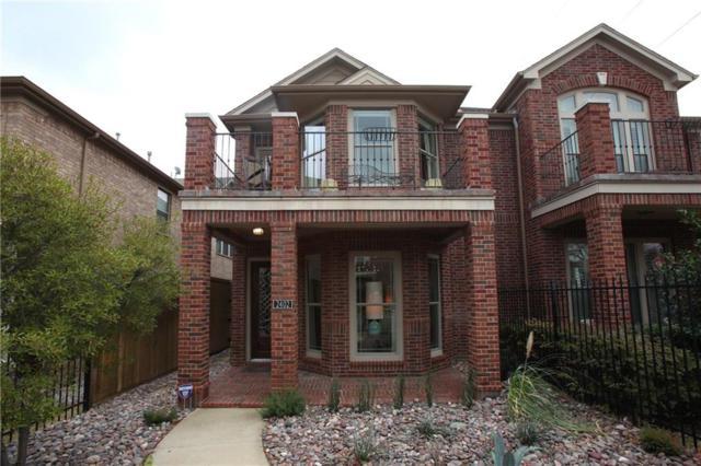 2402 Knight Street, Dallas, TX 75219 (MLS #14022770) :: RE/MAX Landmark