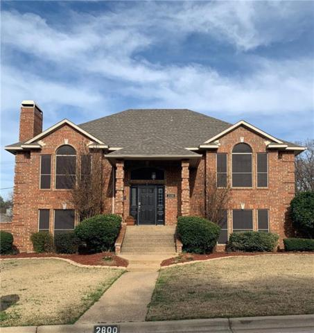2800 Walnut Lane, Hurst, TX 76054 (MLS #14022865) :: The Chad Smith Team