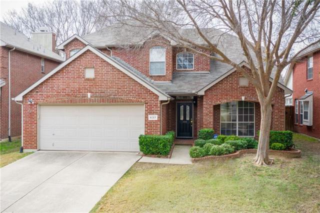 637 Bella Vista Drive, Coppell, TX 75019 (MLS #14022928) :: Team Hodnett
