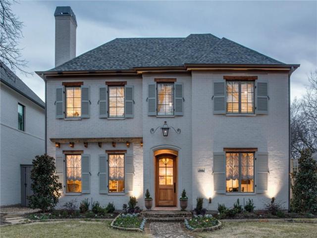 5646 Purdue Avenue, Dallas, TX 75209 (MLS #14022970) :: Van Poole Properties Group