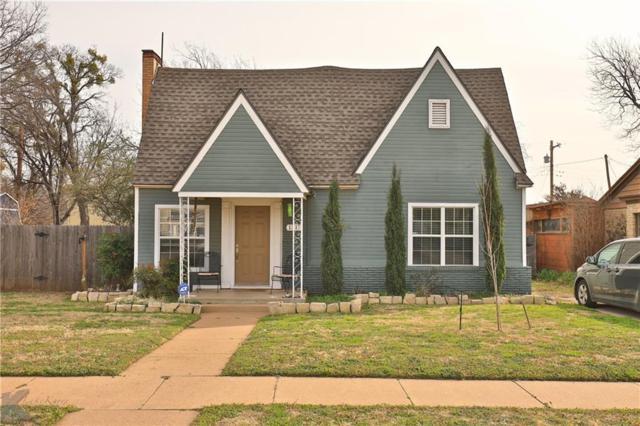 1317 Vine Street, Abilene, TX 79602 (MLS #14023252) :: The Heyl Group at Keller Williams