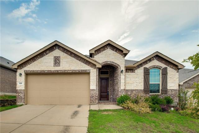508 Crazy Horse, Aubrey, TX 76227 (MLS #14023380) :: Real Estate By Design