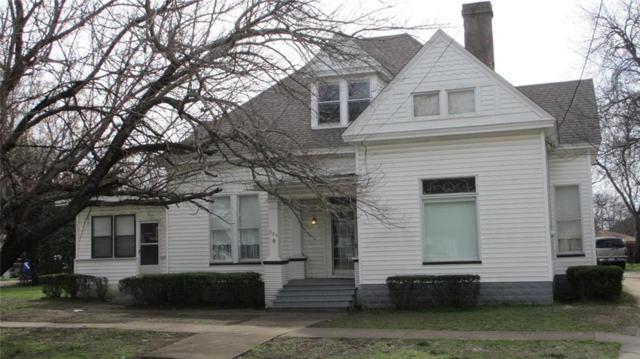 324 E Franklin Street, Hillsboro, TX 76645 (MLS #14023599) :: Kimberly Davis & Associates