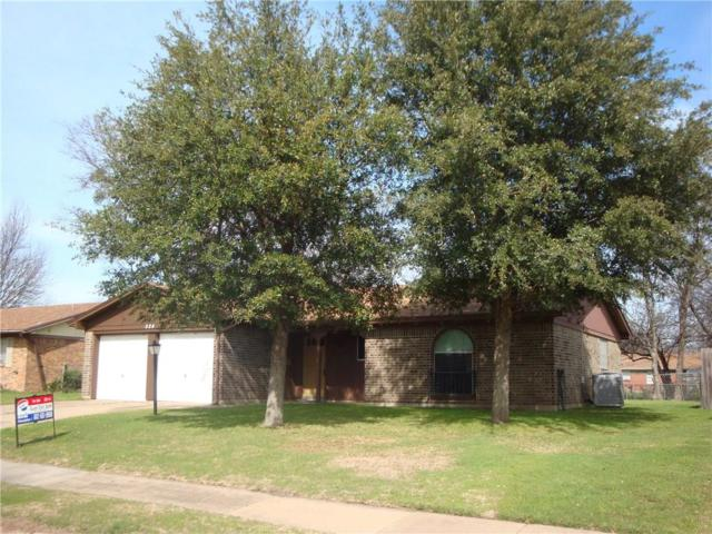 524 NW Sandra Lane, Burleson, TX 76028 (MLS #14023600) :: The Hornburg Real Estate Group