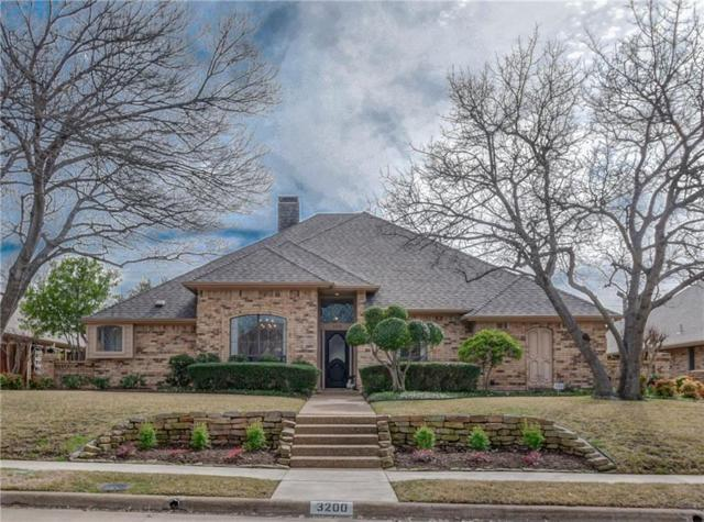 3200 Sage Brush Trail, Plano, TX 75023 (MLS #14024407) :: Kimberly Davis & Associates