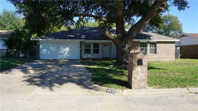 413 Celeste Street, Everman, TX 76140 (MLS #14024839) :: NewHomePrograms.com LLC