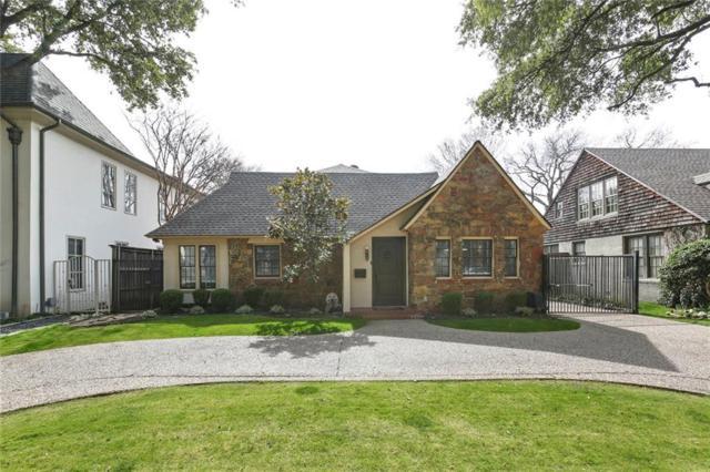 4529 Livingston Avenue, Highland Park, TX 75205 (MLS #14024895) :: Roberts Real Estate Group