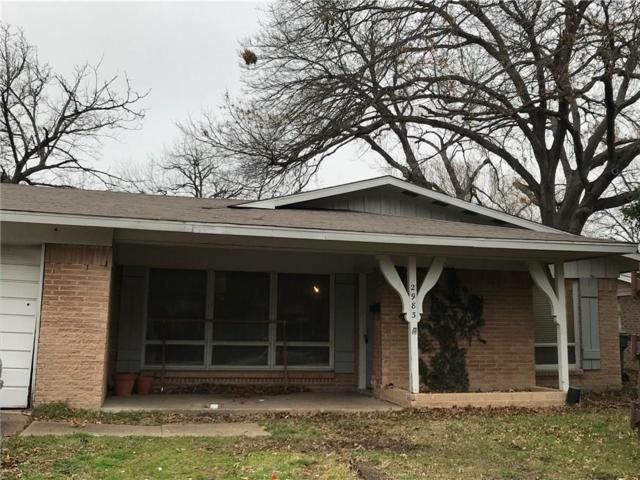 2983 Talisman Drive, Dallas, TX 75229 (MLS #14025093) :: Frankie Arthur Real Estate