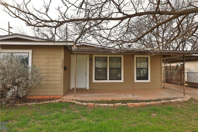 1366 S Bowie Drive, Abilene, TX 79605 (MLS #14025187) :: The Tierny Jordan Network